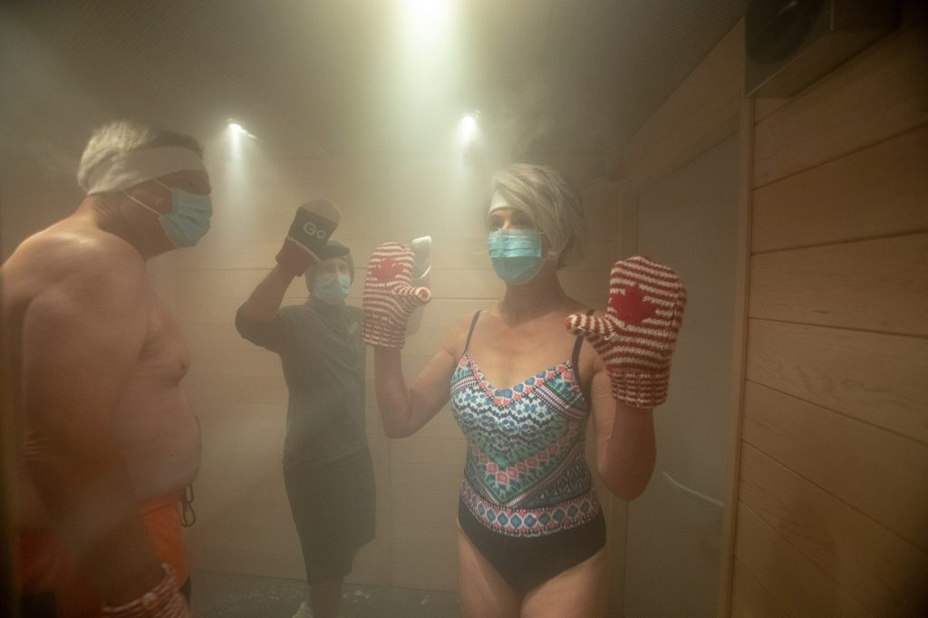 Cryotherapy, Sparkling Hill | Kaare Long